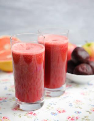 Beet, Pink Lady & Grapefruit Juice