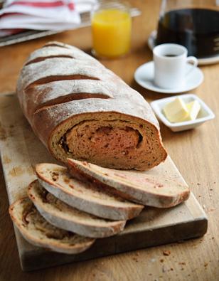 Beet, Bacon & Cheddar Brunch Bread